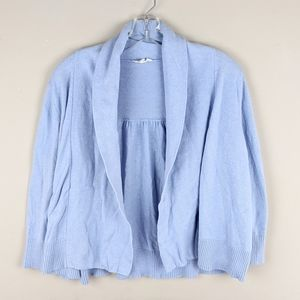 Eileen Fisher | Soft Blue Crop Cardigan-E85